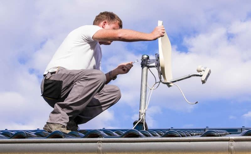 Installazione impianti TV multimediali
